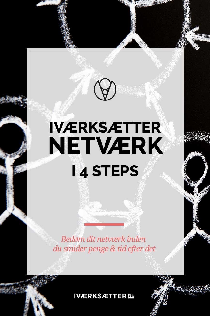 Iværksætter netværk i 4 steps