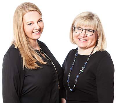 Dorthe Do og Birgitte Feldborg