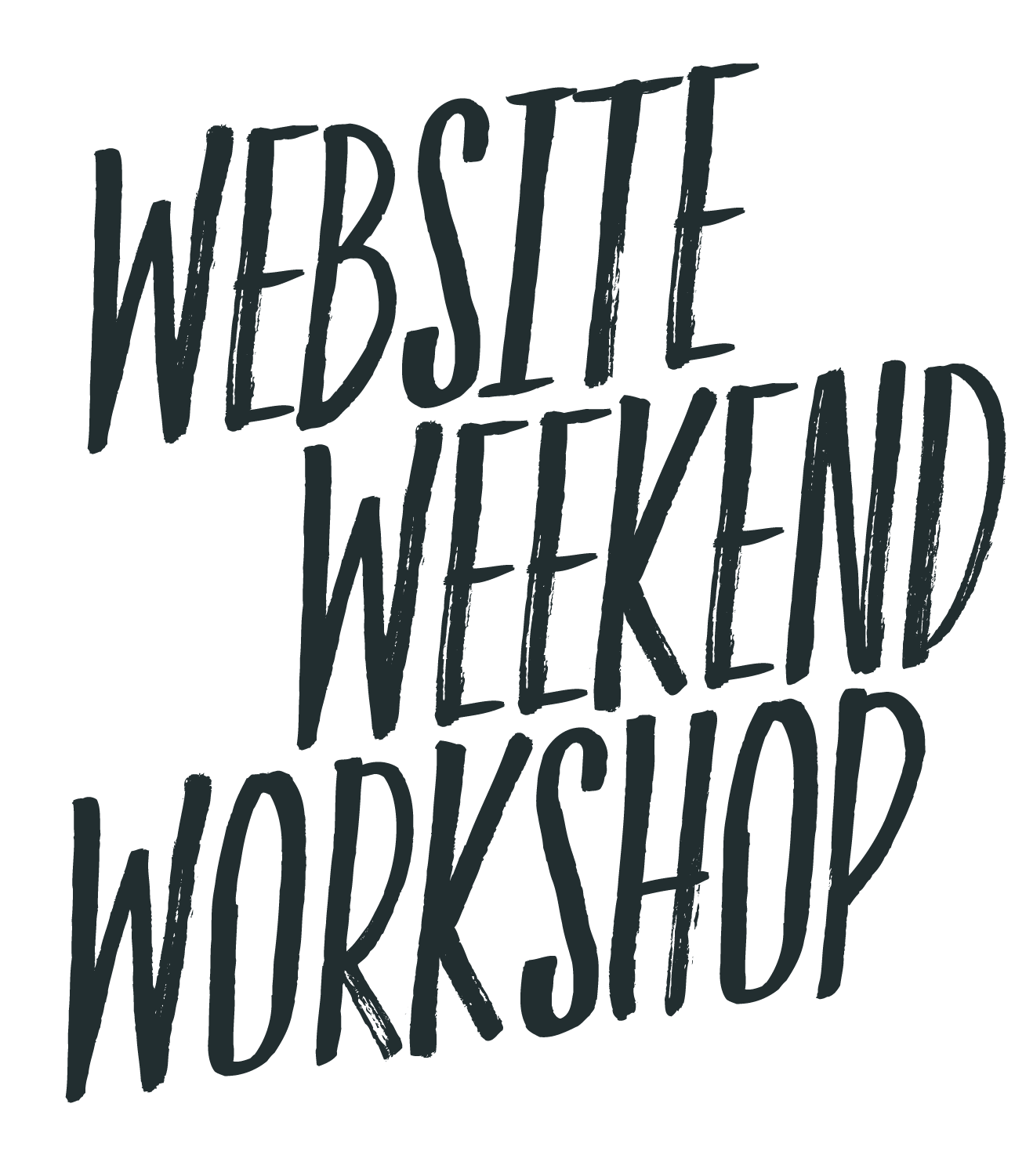 Weekend website workshop